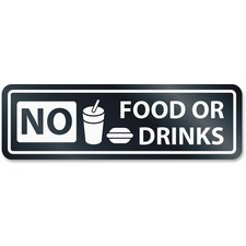 No Food Or Drinks W